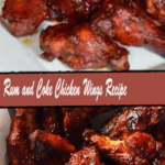 Rum and Coke Chicken Wings Recipe